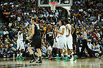 01 APRIL 2012:  Forward Nnemkadi Ogwumike (30 of Stanford University (30) reacts to a call against Baylor University during the Division I Women's Final Four semifinals at the Pepsi Center in Denver, CO.  Baylor defeated Stanford 59-47 to advance to the championship final.  Stephen Nowland/NCAA Photos