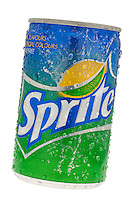 Can of Sprite Lemon and Lime Soft Drink - 2011