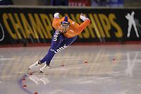 SPEEDSKATING: CALGARY: Olympic Oval, 25-02-2017, ISU World Sprint Championships, 500m Men, Kjeld Nuis (NED), ©photo Martin de Jong