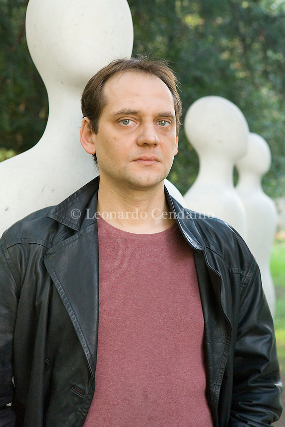 Milan, Italy, October 2006.The Italian Economist, and leader writer Francesco Magris, son of Claudio Magris. Francesco Magris lives in Paris where he teaches economic maths at the University of Evry.