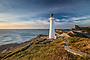 Dawn at Castlepoint Lighthouse, Wairarapa Coast, New Zealand