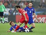 EM Fotos Fussball Europameisterschaft 2008 Viertelfinale: Kroatien - Tuerkei
