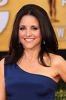 LOS ANGELES, CA - JANUARY 18: Julia Louis-Dreyfus at the 20th Annual Screen Actors Guild Awards held at The Shrine Auditorium on January 18, 2014 in Los Angeles, California. (Photo by Xavier Collin/Celebrity Monitor)