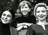 Anne Bancroft, Julie Harris, and Pamela Brown.