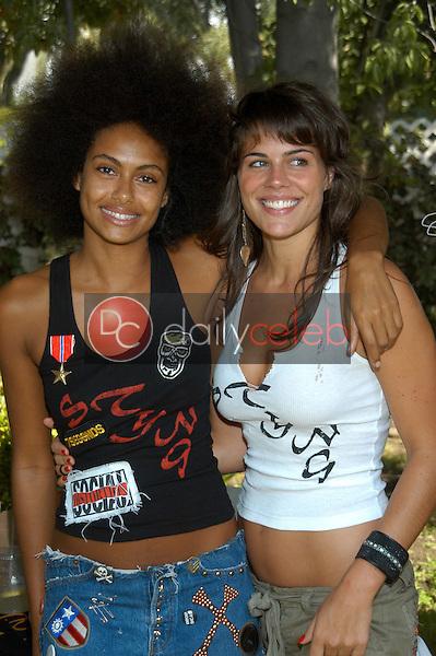 Shakara Ledard and friend