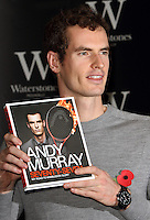 NOV 6 Andy Murray Book Signing