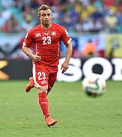 FUSSBALL WM 2014 VORRUNDE Schweiz - Frankreich