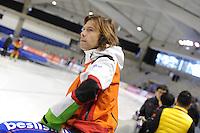 SCHAATSEN: CALGARY: Olympic Oval, 09-11-2013, Essent ISU World Cup, Gerard van Velde (trainer/coach Team Beslist.nl), ©foto Martin de Jong