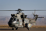 Spanish Eurocopter AS 332 Super Puma operating in Afghanistan