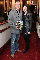 """NO REPRO FEE. 17/1/2010. The Field opening night. Daithi O Shea and Rita Talty are pictured at the Olympia Theatre for the opening night of John B Keanes 'The Field"""" Picture James Horan/Collins"""