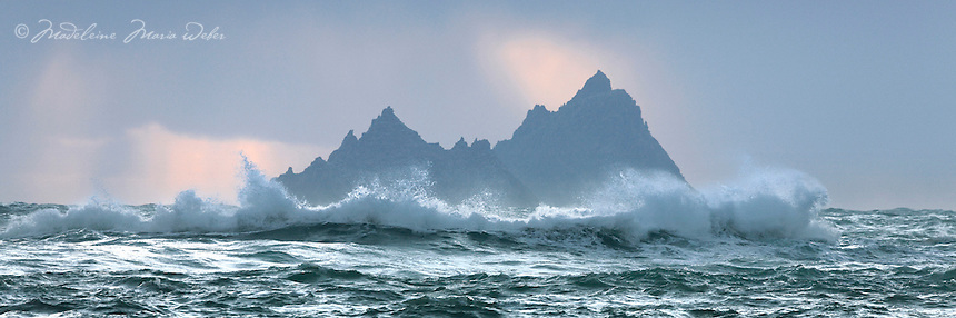 Crossing the Desert<br /> <br /> Little Skellig and Skellig Michael, County Kerry, Ireland