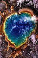 Thermal Pool, Yellowstone, Wyoming