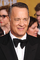 LOS ANGELES, CA - JANUARY 18: Tom Hanks at the 20th Annual Screen Actors Guild Awards held at The Shrine Auditorium on January 18, 2014 in Los Angeles, California. (Photo by Xavier Collin/Celebrity Monitor)