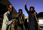 Taliban soldiers on July 25, 1996 outside Kabul, Afghanistan. They took over most of the country in 1996, and have enforced strict muslim sharia law. Women are not allowed to work or go to school..(Photo: Per-Anders Pettersson/Liaison Agency)