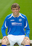 St Johnstone FC...Season 2011-12.Murray Davidson.Picture by Graeme Hart..Copyright Perthshire Picture Agency.Tel: 01738 623350  Mobile: 07990 594431