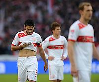 Fussball Bundesliga 2012/13: VFB Stuttgart - Eintracht Frankfurt