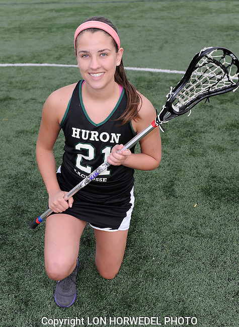 Huron High School girl's varsity lacrosse team.