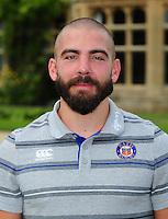 Jameson Mola poses for a portrait at a Bath Rugby photocall. Bath Rugby Media Day on August 24, 2016 at Farleigh House in Bath, England. Photo by: Patrick Khachfe / Onside Images
