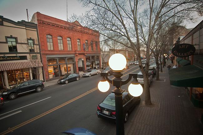 Main street, St. Helena, California