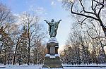 1.22.13 Main Quad Snow 2.JPG by Matt Cashore/University of Notre Dame