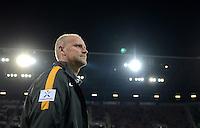FUSSBALL   1. BUNDESLIGA  SAISON 2012/2013   7. Spieltag FC Augsburg - Werder Bremen          05.10.2012 Enttaeuschung von Trainer Thomas Schaaf (SV Werder Bremen)
