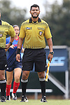 23 August 2015: Assistant Referee Gustavo Solorio. The University of North Carolina Tar Heels played the Fresno State Bulldogs at Fetzer Field in Chapel Hill, NC in a 2015 NCAA Division I Women's Soccer game. UNC won the game 7-0.