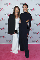 """(L-R) Jane Hertzmark and Victoria Beckham attends The Breast Cancer Research Foundation """"Super Nova"""" Hot Pink Party on May 12, 2017 at the Park Avenue Armory in New York City."""