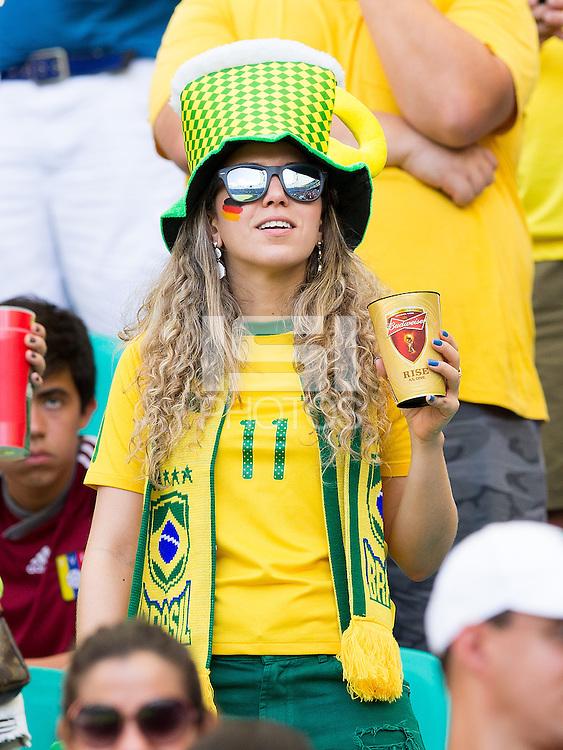 A Germany and Brazil fan