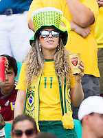 A Germany and Brazil fan