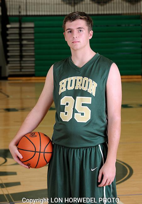 2014-15 Huron High School boy's junior varsity basketball team.