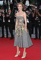 Eva Herzigova attends 'Deux jours, une nuit' 1ere - 67th Cannes Film Festival - France
