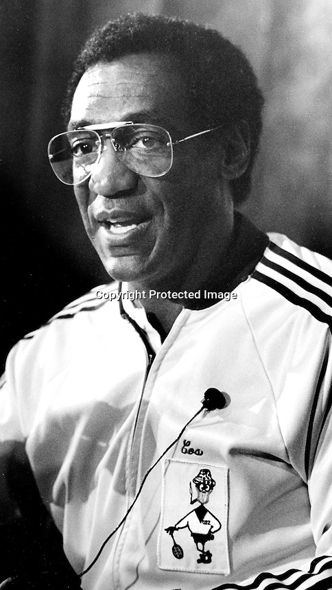 Comedian Bill Cosby 1982 photo .by Ron Riesterer