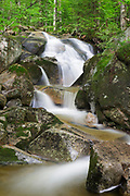 Tributary of Lost River on Mount Jim in Kinsman Notch of Woodstock, New Hampshire USA during the summer months