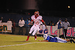 Lafayette High's Jeremiah Jones (26) runs vs. Senatobia High in Senatobia, Miss. on Friday, October 21, 2011. Lafayette High won.