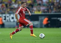 FUSSBALL   1. BUNDESLIGA   SAISON 2013/2014   SUPERCUP Borussia Dortmund - FC Bayern Muenchen           27.07.2013 Xherdan Shaqiri (FC Bayern Muenchen)  Einzelaktion am Ball