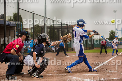 Italy vs Greece during XIX European Softball Fastpitch  Championship Women, on July 20, 2015 in Rosmalen,  Netherlands. Photo by Grega Valancic / Sportida