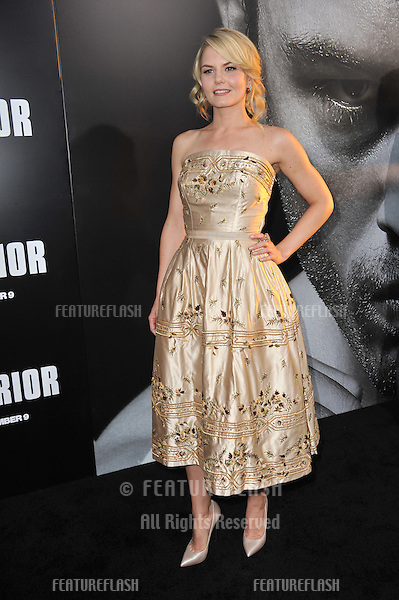 """Jennifer Morrison at the world premiere of her new movie """"Warrior"""" at the Arclight Theatre, Hollywood..September 6, 2011  Los Angeles, CA.Picture: Paul Smith / Featureflash"""