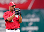 21 May 2006: Livan Hernandez, pitcher for the Washington Nationals, on the mound against the Baltimore Orioles at RFK Stadium in Washington, DC. The Nationals defeated the Orioles 3-1 to take 2 of 3 games in their first inter-league series...Mandatory Photo Credit: Ed Wolfstein Photo..