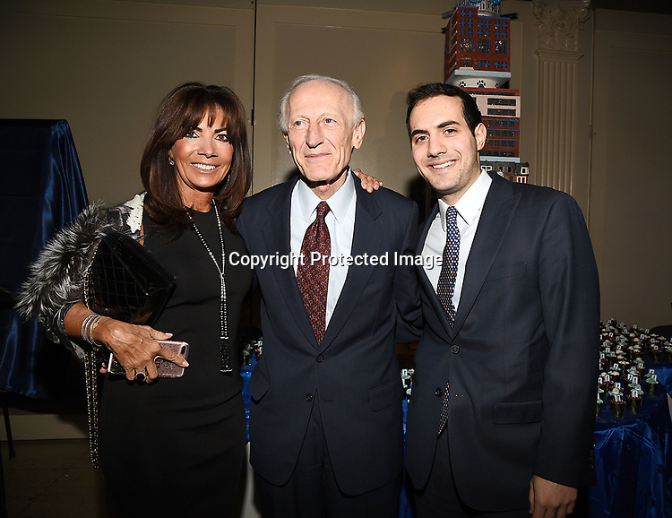 Vicki Rother, Dr Soghoian and her son Blake attend the Columbia Grammar & Prep School 2017 Benefit on March 8, 2017 at Cipriani Wall Street in New York, New York.