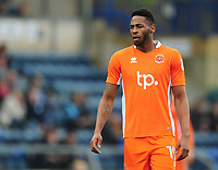Blackpool's Jamille Matt<br /> <br /> Photographer Kevin Barnes/CameraSport<br /> <br /> The EFL Sky Bet League Two - Wycombe Wanderers v Blackpool - Saturday 11th March 2017 - Adams Park - Wycombe<br /> <br /> World Copyright &copy; 2017 CameraSport. All rights reserved. 43 Linden Ave. Countesthorpe. Leicester. England. LE8 5PG - Tel: +44 (0) 116 277 4147 - admin@camerasport.com - www.camerasport.com