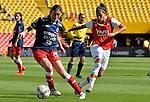 Independiente Santa Fe venció 1-0 a Patriotas. Fecha 3 Liga Águila femenina 2017.