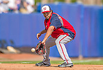 23 February 2013: Washington Nationals infielder Anthony Rendon warms up prior to a Spring Training Game against the New York Mets at Tradition Field in Port St. Lucie, Florida. The Mets defeated the Nationals 5-3 in their Grapefruit League Opening Day game. Mandatory Credit: Ed Wolfstein Photo *** RAW (NEF) Image File Available ***