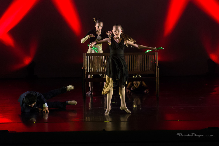 "3D Project Jazz Company, ""The Cracked Nut"", Dress Rehearsal, Thurs., 17 Dec. 2015, Cary Arts Center, Cary, North Carolina."