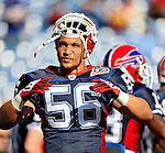 1 November 2009: Buffalo Bills' linebacker Keith Ellison warms up prior to a game against the Houston Texans at Ralph Wilson Stadium in Orchard Park, New York, USA. The Texans defeated the Bills 31-10. Mandatory Credit: Ed Wolfstein Photo