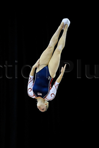17.11.2011 Birmingham, England. Trampoline and Tumbling World Championships. Laura Gallagher GB