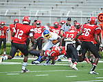 Oxford High vs. Shannon in a high school preseason game at Vaught-Hemingway Stadium in Oxford, Miss. on Friday, August 10, 2012.