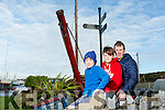 Fenit Development association have got funding to revamp the village. Pictured Rón O'Neill, Sé O'Neill and Mike O'Neill