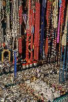 Tunisia.  Tunis Medina.  Jewelry, Necklaces, Bracelets.