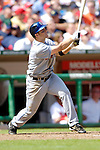 11 April 2006: David Wright, third baseman for the New York Mets, at bat against the Washington Nationals during the Nationals' Home Opener at RFK Stadium, in Washington, DC. The Mets defeated the Nationals 7-1 to maintain their early lead in the NL East...Mandatory Photo Credit: Ed Wolfstein Photo..