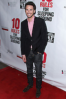 """HOLLYWOOD, LOS ANGELES, CA, USA - APRIL 01: Corey Saunders at the Los Angeles Premiere Of Screen Media Films' """"10 Rules For Sleeping Around"""" held at the Egyptian Theatre on April 1, 2014 in Hollywood, Los Angeles, California, United States. (Photo by Xavier Collin/Celebrity Monitor)"""